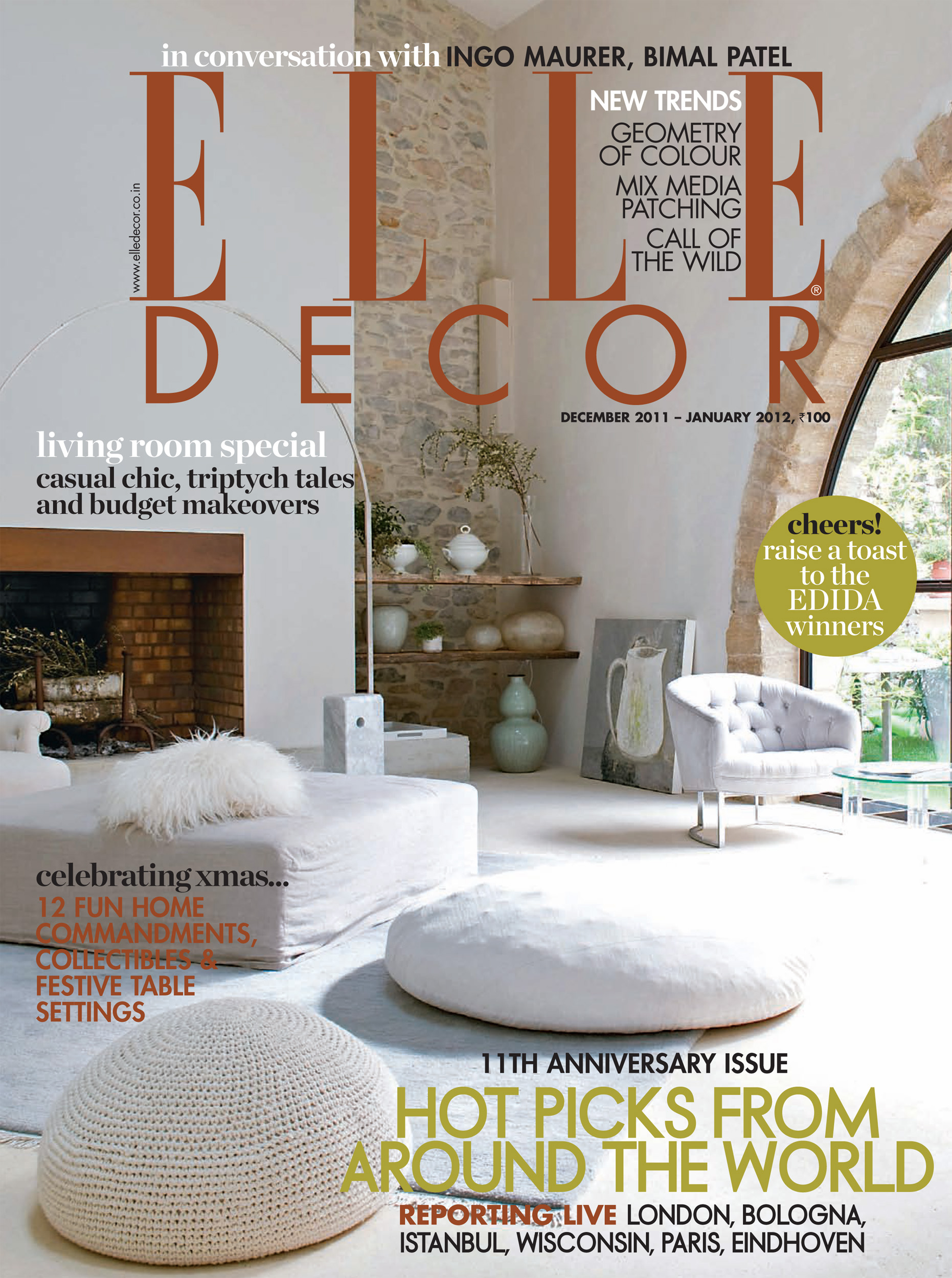 Focus trend not tom for Elle decor india contact