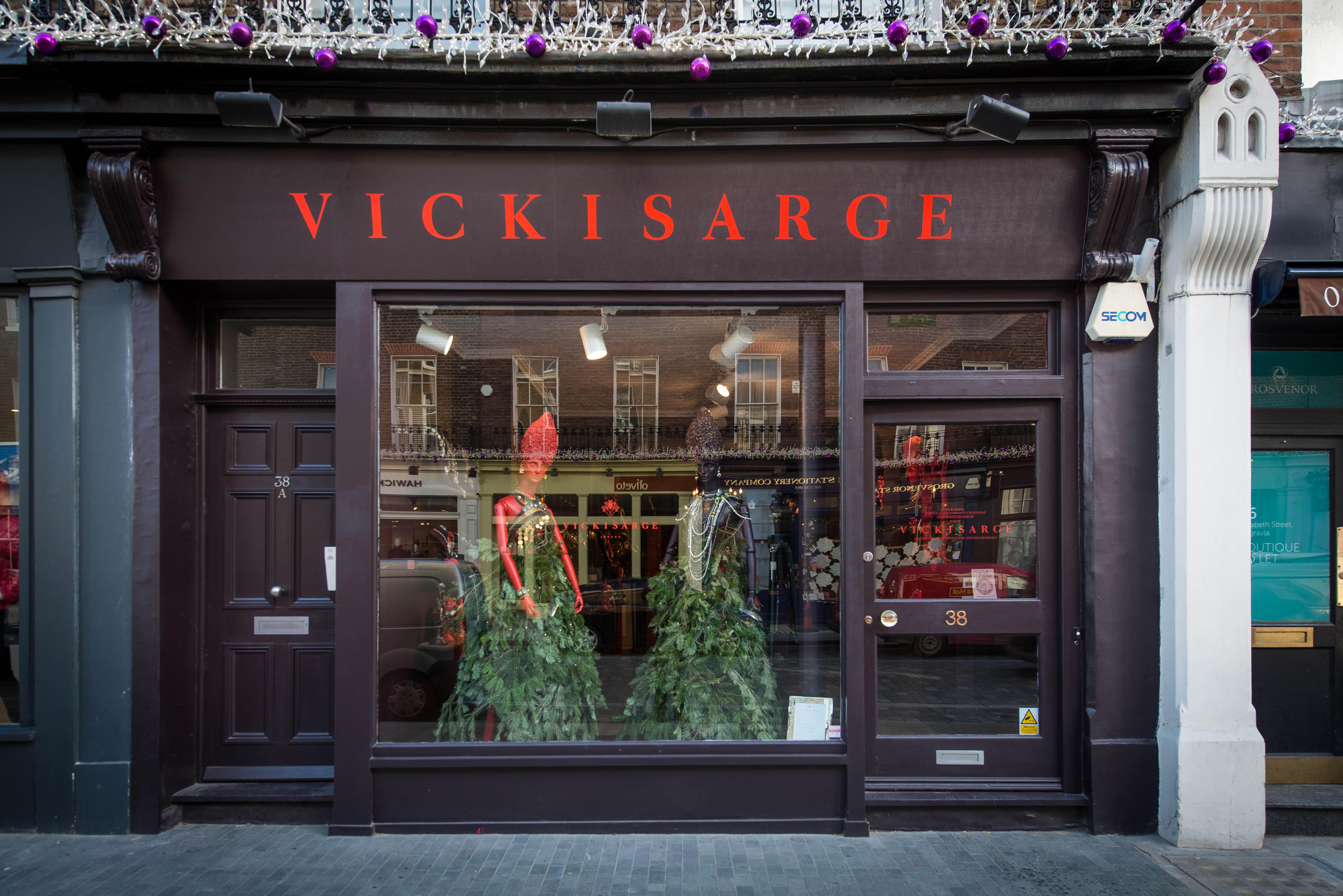 Vicki Sarge shop exterior shot